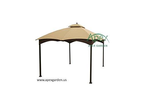 allen-roth-Gazebo-Beige-Replacement-Canopy-Top-Model-  sc 1 st  Farm u0026 Garden Superstore & allen + roth Gazebo Beige Replacement Canopy Top Model # GF ...