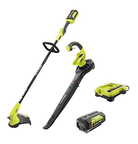40-Volt-Lithium-Ion-Cordless-String-Trimmer-and-BlowerSweeper-Combo-Kit-2-Tools-Includes-Battery-and-Charger-0