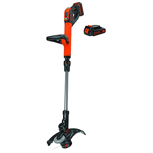 BLACKDECKER-LSTE525R-20V-MAX-15-Ah-Cordless-Lithium-Ion-EASYFEED-2-Speed-12-in-String-TrimmerEdger-Kit-Certified-Refurbished-0