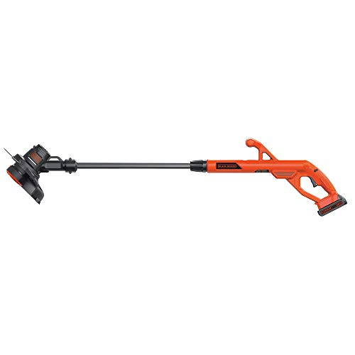 Black-Decker-LST201R-20V-MAX-15-Ah-Cordless-Lithium-Ion-10-in-String-TrimmerEdger-Certified-Refurbished-0-0