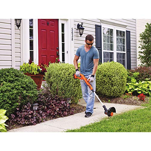 Black-Decker-LST201R-20V-MAX-15-Ah-Cordless-Lithium-Ion-10-in-String-TrimmerEdger-Certified-Refurbished-0-2
