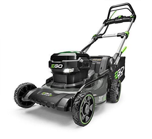 EGO-Power-LM2020SP-20-Inch-56-Volt-Lithium-ion-Brushless-Steel-Deck-Walk-Behind-Self-Propelled-Lawn-Mower-Battery-and-Charger-Not-Included-56-V-Green-0