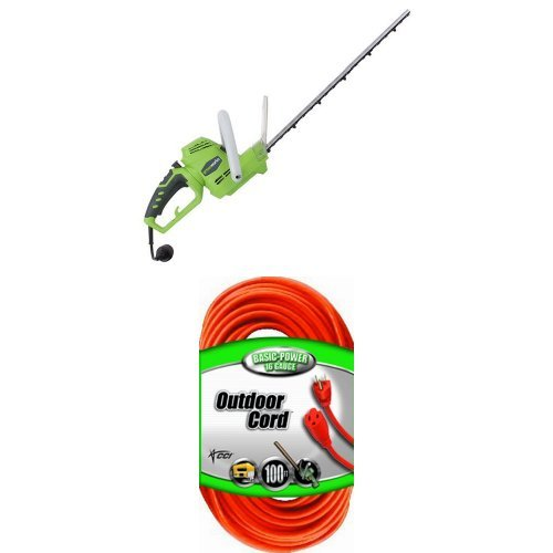 GreenWorks-22122-4-Amp-22-Inch-Corded-Hedge-Trimmer-with-Rotating-Handle-0
