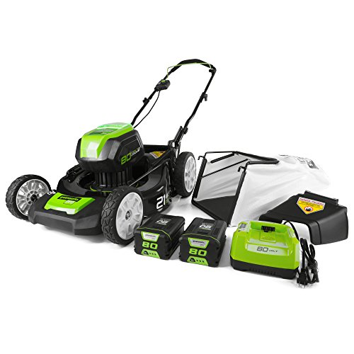 Greenworks-PRO-21-Inch-80V-Cordless-Lawn-Mower-Two-20AH-Batteries-Included-GLM801601-0