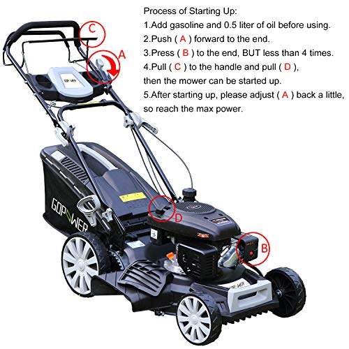 I-Choice-3-in-1-Gasoline-Self-Propelled-Lawnmower-High-Rear-Wheel-Drive-Push-Mower-with-OHV-Engine-Deck-Recoil-Start-System-Side-Discharge-Mulching-Rear-Bag-0-0