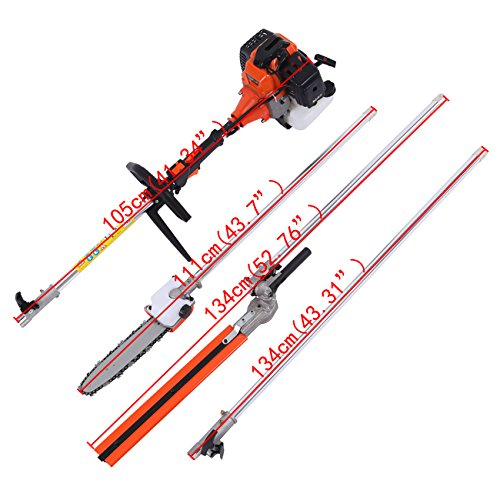 Iglobalbuy-52CC-Gas-Multi-Functional-5-in-1-Pole-Hedge-Trimmer-Trimmer-Brush-Cutter-Pole-Chainsaw-Pruner-43-inch-Extension-Pole-0-0