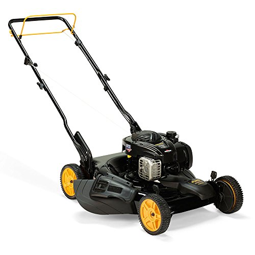 Poulan-Pro-961220037-PR500Y22P-Briggs-500E-Side-DischargeMulch-2-in-1-Lawnmower-with-22-Inch-Deck-0