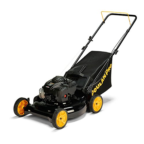 Poulan-Pro-961320101-PR550N21R3-Briggs-550-E-Series-Side-DischargeMulchBag-3-in-1-Push-Lawn-Mower-with-21-Deck-0-0