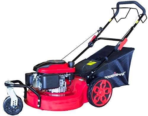 PowerSmart-DB8620-20-inch-3-in-1-196cc-Gas-Self-Propelled-Mower-RedBlack-0