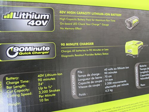 Ryobi-40-Volt-Cordless-Hedge-Trimmer-24-includes-Lithium-Ion-Battery-plus-Charger-0-1