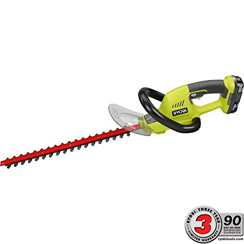 Ryobi-ONE-18-in-18-Volt-Lithium-Ion-Cordless-Hedge-Trimmer-13-Ah-Battery-and-Charger-Included-0