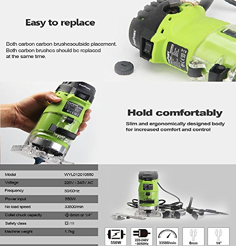 Seentech-6mm-14-Woodworking-Trimmer-Tool-550W-Power-Electric-Router-Woodwork-European-plugsment-0-1