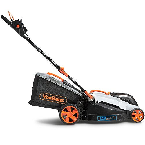 VonHaus-40V-Max16-Inch-Cordless-Lawn-Mower-Kit-with-6-Level-Adjustable-Cutting-Heights-40Ah-Lithium-Ion-Battery-and-Charger-Kit-Included-0-2
