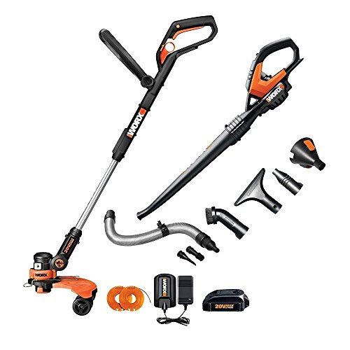 Worx-Combo-20-Volt-Lithium-Ion-Cordless-String-TrimmerBlower-Combo-Kit-with-Air-Attachments-0