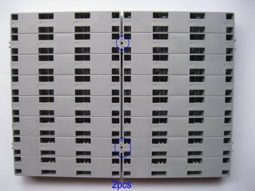 10-Pcs-SMD-SMT-Electronic-Component-Mini-Storage-Box-2438-LatticeBlocks-156x105x18mm-Gray-Color-T-156-Skywalking-0