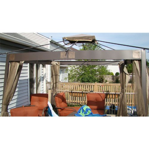 10-x-10-Square-Post-Gazebo-Replacement-Canopy-RipLock-350-0