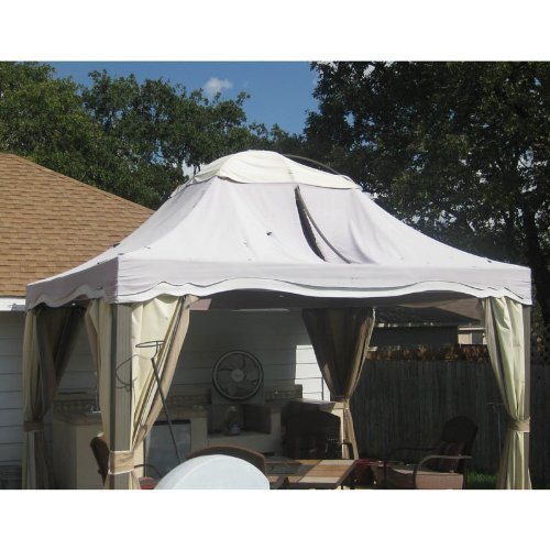 10-x-12-Dome-Gazebo-Replacement-Canopy-0-0