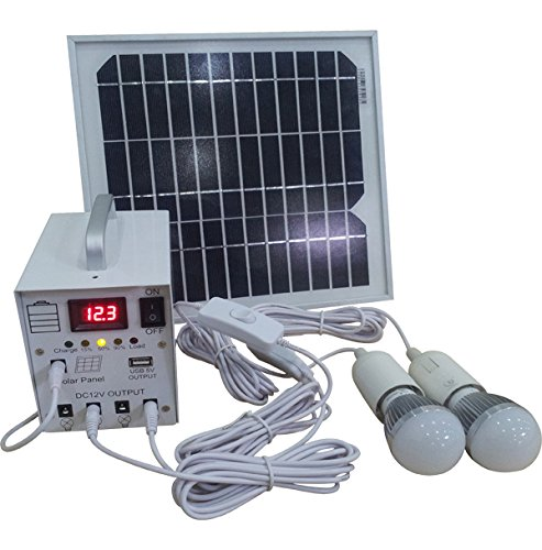 10W-Solar-Power-System-12V-Dc-Input10-Watts-Solar-Kit-for-Home-12V-DC-LED-Lamp-with-5V-USB-Multi-Connect-Mobile-Phone-Charger-0