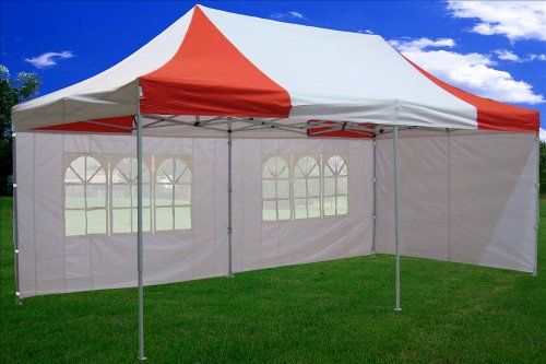 10×20-Pop-up-Canopy-Wedding-Party-Tent-Instant-EZ-Canopy-Red-White-F-Model-Commercial-Grade-Frame-By-DELTA-0-0