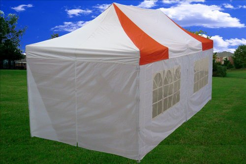 10×20-Pop-up-Canopy-Wedding-Party-Tent-Instant-EZ-Canopy-Red-White-F-Model-Commercial-Grade-Frame-By-DELTA-0-1