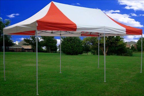 10×20-Pop-up-Canopy-Wedding-Party-Tent-Instant-EZ-Canopy-Red-White-F-Model-Commercial-Grade-Frame-By-DELTA-0-2