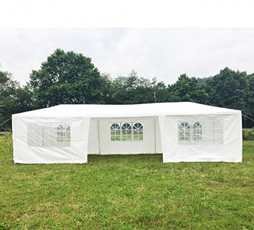 10×30-White-Outdoor-Gazebo-Canopy-Party-Wedding-Tent-7-Sidewalls-Removable-Walls-0-0