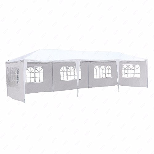 10×30-White-Outdoor-Gazebo-Canopy-Party-Wedding-Tent-7-Sidewalls-Removable-Walls-0-1
