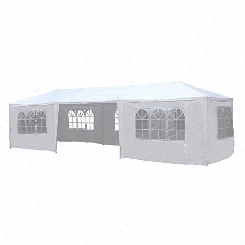 10×30-White-Outdoor-Gazebo-Canopy-Party-Wedding-Tent-7-Sidewalls-Removable-Walls-0