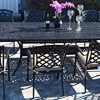 11 Piece Patio Dining Set Cast Aluminum Elisabeth