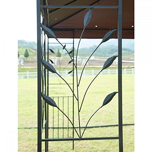 12X-10-Outdoor-Gazebo-Steel-frame-Vented-Gazebo-w-Netting-BestMassage-0-2