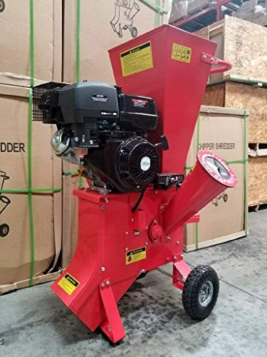 15HP-420CC-Gas-Powered-Wood-Chipper-Shredder-Mulcher-4-Capacity-with-Mulch-Bag-and-Electric-Start-0