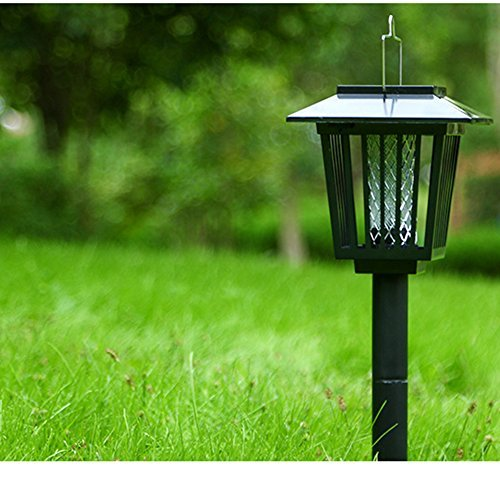 2-Pack-Solar-Powered-Outdoor-Insect-Killer-Bug-Zapper-Mosquito-Killer-Hang-or-Stick-in-the-Ground-with-Dual-Modes-Bug-Zapper-Garden-Light-Function-Best-Stinger-for-Mosquitoes-Moths-Flies-0-0