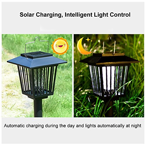 2-Pack-Solar-Powered-Outdoor-Insect-Killer-Bug-Zapper-Mosquito-Killer-Hang-or-Stick-in-the-Ground-with-Dual-Modes-Bug-Zapper-Garden-Light-Function-Best-Stinger-for-Mosquitoes-Moths-Flies-0-1