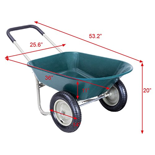 2-Tire-Heavy-Duty-Garden-Yard-Cart-Landscape-Wagon-Allblessings-0-1