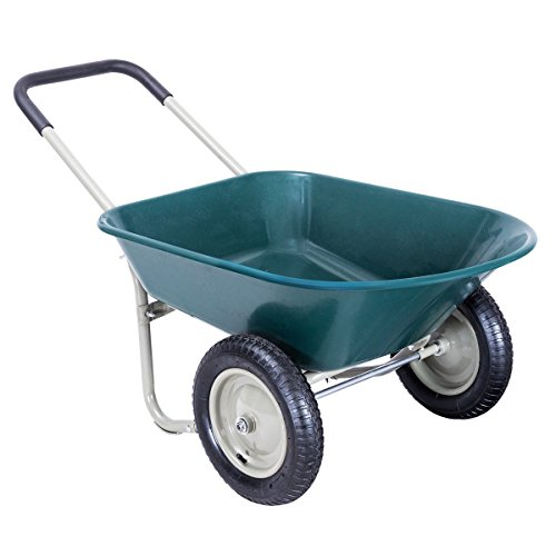 2-Tire-Heavy-Duty-Garden-Yard-Cart-Landscape-Wagon-Allblessings-0