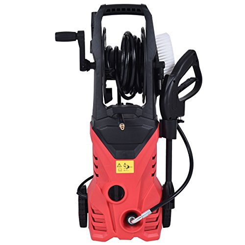 2030PSI-Electric-Pressure-Washer-Cleaner-17-GPM-1800W-W-Hose-Reel-Red-New-0-0