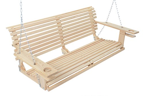 4-Foot-Handmade-Cypress-Porch-Swing-with-Cupholders-Proudly-Handmade-in-the-USA-0