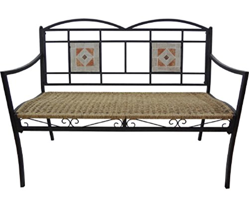 4-Seasons-Global-45-in-All-Weather-Wicker-Garden-Patio-Bench-0