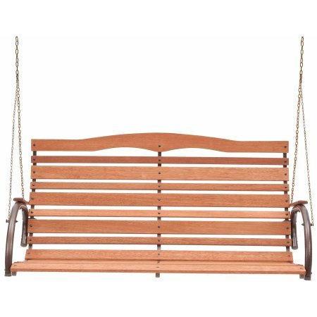 48-High-Back-Wood-Swing-with-Chain-Seats-2-People-Easily-Assembly-High-Back-Rounded-Seats-Comes-With-a-Strong-Hang-Chain-Natural-Hardwood-500-lb-Weight-Capacity-Perfect-Addition-to-Your-Patio-0-1