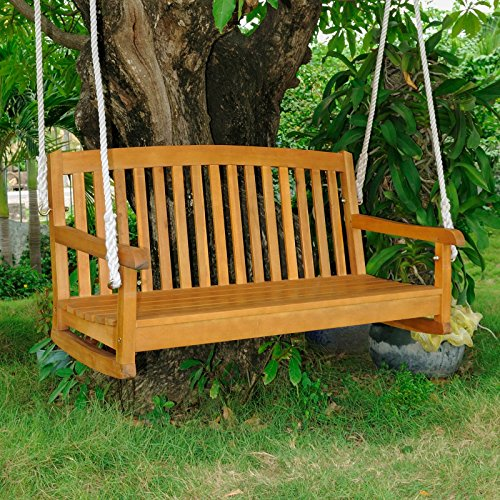 48-in-Hanging-Porch-Swing-All-Weather-Acacia-Hardwood-Water-Resistant-Dual-Stain-Outdoor-Finish-Features-UV-Light-Fading-Protection-Constructed-of-Weather-Resistant-Acacia-Hardwood-0