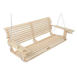 5-Foot-Handmade-Cypress-Porch-Swing-with-Cupholders-0-0
