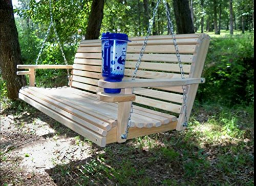 5-Ft-USA-Made-Cypress-Roll-Back-Porch-Swing-with-Swing-mate-Comfort-Springs-and-Cup-Holder-Arm-and-Stainless-Steel-Hardware-Upgrade-0-1