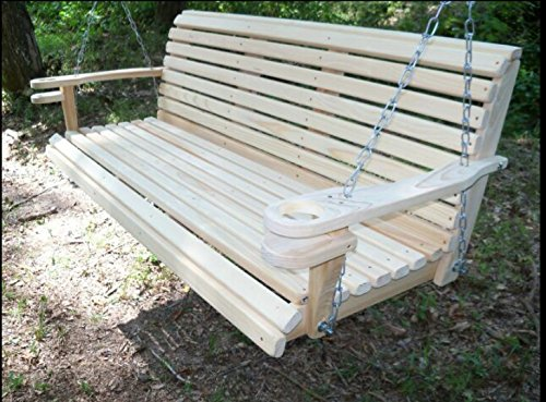 5-Ft-USA-Made-Cypress-Roll-Back-Porch-Swing-with-Swing-mate-Comfort-Springs-and-Cup-Holder-Arm-and-Stainless-Steel-Hardware-Upgrade-0