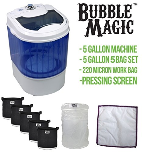 5-Gallon-Bubble-Magic-Washing-Machine-Ice-Hash-Extraction-5-Bags-Kit-0
