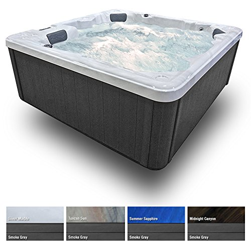 5-Seat-hot-tub-27-Stainless-Jets-Waterfall-Ozone-LED-Lights-Cover-Smoke-Gray-Cabinet-0