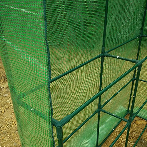 57-x-57-x-77-Portable-Mini-Walk-In-Outdoor-2-Tier-8-Shelves-Greenhouse-0-2