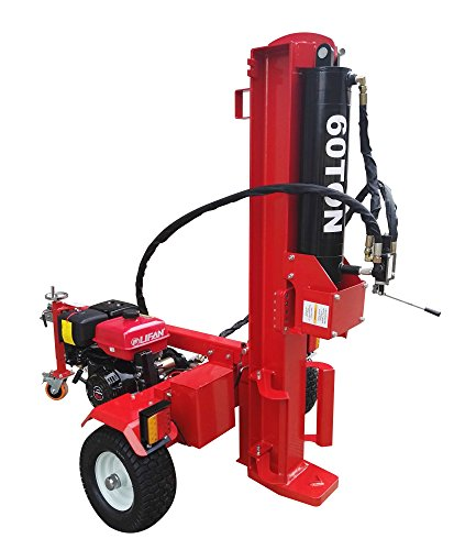 60-Ton-Log-Wood-Splitter-Hydraulic-15HP-Gas-Engine-4-Way-Splitting-Wedge-Electric-Start-Tow-Hitch-Package-1-Year-Parts-Warranty-0