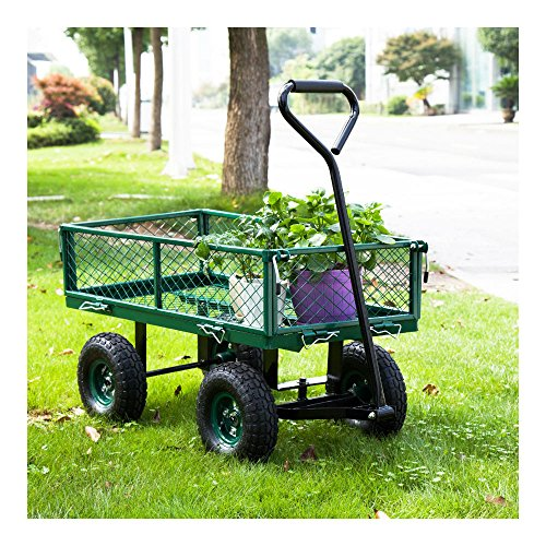 650LBS-Garden-Utility-Wagon-Wheelbarrow-Yard-Lawn-Heavy-Duty-wRemovable-Sides-0-0