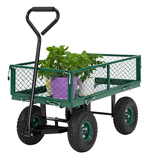 650LBS-Garden-Utility-Wagon-Wheelbarrow-Yard-Lawn-Heavy-Duty-wRemovable-Sides-0-1