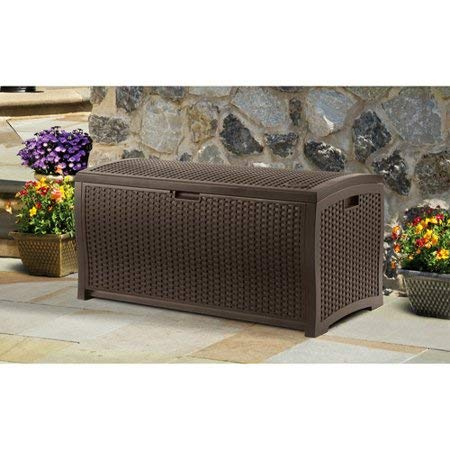 99-Gallon-Java-Resin-Wicker-Deck-Box-Contemporary-Wicker-Design-Stay-Dry-Design-Keeps-Out-Inclement-Weather-Long-Lasting-Resin-Construction-Attractive-Versatile-Storage-and-Organization-Option-0